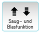 saug- blasfunktion
